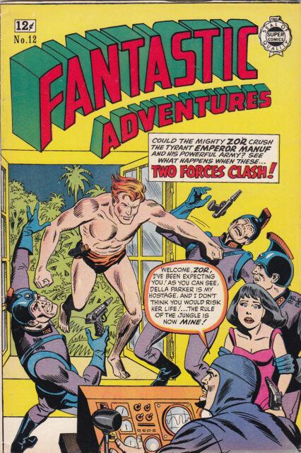 Fantastic Adventures #12 1963 Super Comics