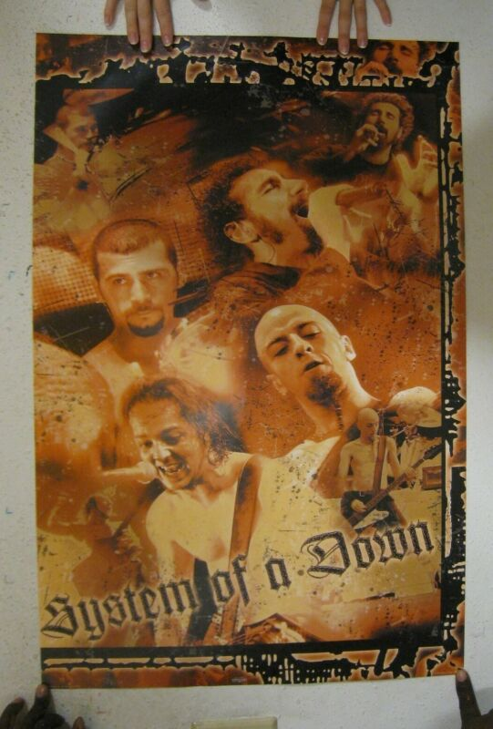 System Of A Down Poster Cool Band Commercial