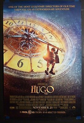 Hugo (2011) Original 27x40 Movie Poster DS (Martin Scorsese)