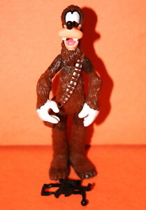 STAR WARS DISNEY STAR TOURS GOOFY AS CHEWBACCA LOOSE COMPLETE