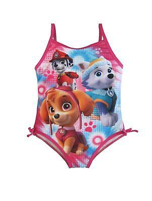 Paw Patrol Kleinkind Größe 2t Rosa Blau Einteilig Badeanzug Neu