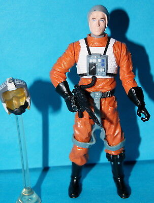STAR WARS 30TH HOBBIE X-WING PILOT LOOSE COMPLETE - X Wing Pilot
