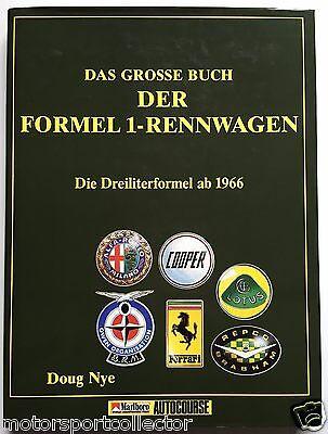 Formel 1 Rennwagen - Die Dreiliterformel ab 1966 (Doug Nye, Autocourse)