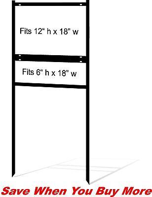 Real Estate Yard Sign Metal Frames - 12 X 18 - Free Shipping