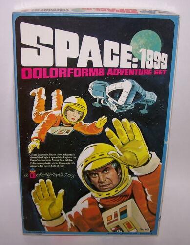 Space 1999 Colorforms Adventure Play Set No 609 Unused Complete Art 1976 MIB