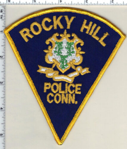Rocky Hill Police (Connecticut) Uniform Take-Off Shoulder Patch - new from 1989