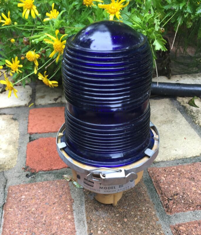Cobalt Blue Airport Runway And Landing Light For Your Mancave!