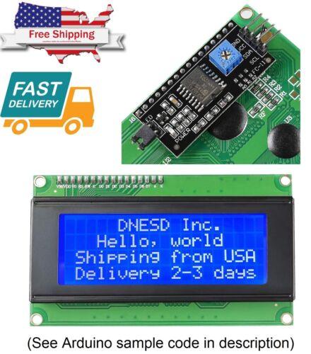 2004 204 20X4 Blue LCD Serial Character Module Display IIC/I2C/TWI Arduino kit