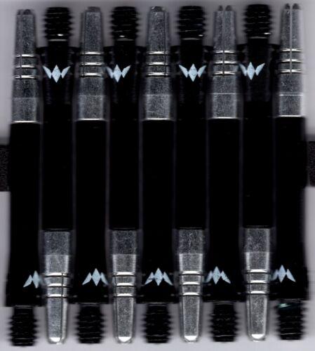 InBetween Black ALIMIX Spinning Aluminum Dart Shafts: 1 set of 3