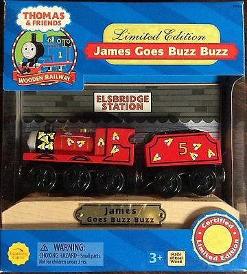 THOMAS THE TANK & FRIENDS - JAMES GOES BUZZ BUZZ 2003 LIMITED EDITION *NIB* *