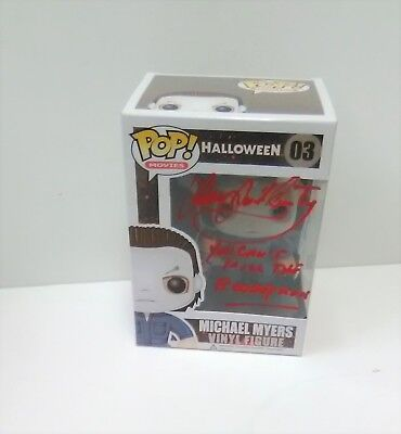 JAMES JUDE COURTNEY Halloween SIGNED Michael Myers Funko Pop Figure PROOF