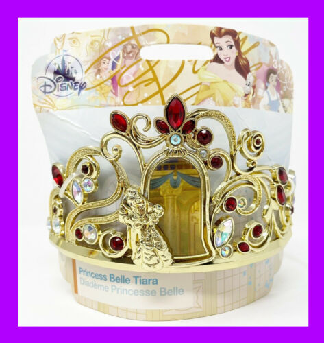 🌴 Disney Beauty & Beast Princess Belle Tiara Headband Combs 3+ Halloween NEW