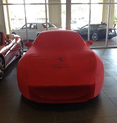 Ferrari California Car Cover OEM Factory Authentic Non-Abrasive Lining