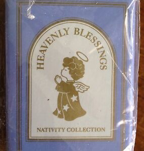 New Avon 1986 Heavenly Blessings Nativity Balthasar Porcelain Figurine