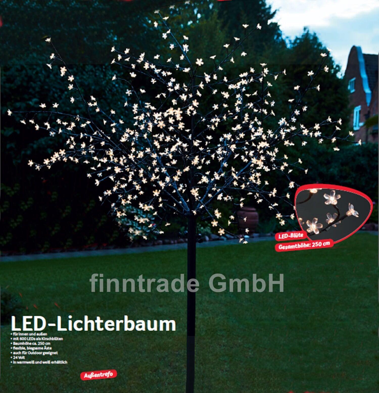 lichterbaum 600led kirschbl ten 2 5 m weihnachten. Black Bedroom Furniture Sets. Home Design Ideas