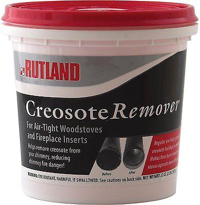 Rutland Dry Creosote Remover Chimney Treatment, 2-Pound Chimney Creosote Removal