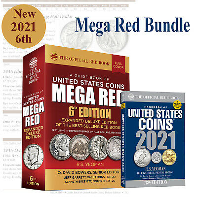 New RedBook MEGA RED Guide Catalog United States US Coins 2021 + Blue Book Price