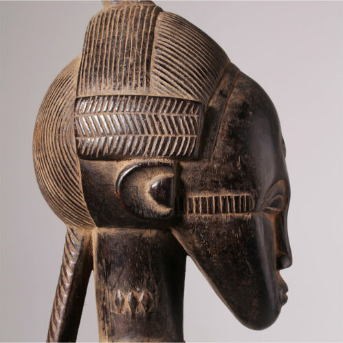 11075 Baule Ahnen Figure Ancestor Blolo Bian Elfenbeinküste