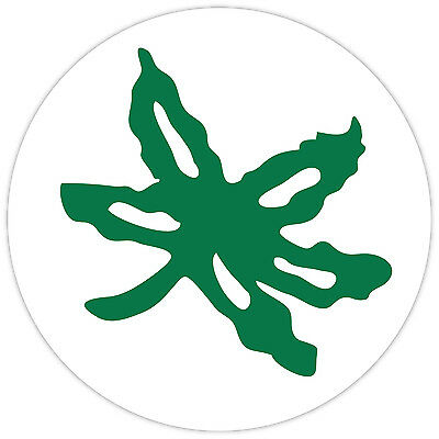Ohio State Buckeyes Leaf Vinyl Sticker Decal **MANY SIZES** CornholeTruck (State Vinyl Sticker Decal Car)