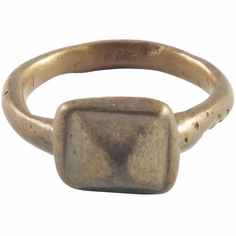 ROMAN PROSTITUTE'S RING 1st-3rd CENTURY AD SIZE 3 ½