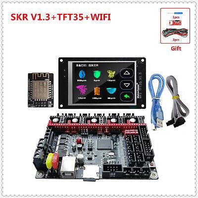 best 3d printer upgrade display MKS TFT35 touch screen SKR V1.3 plate