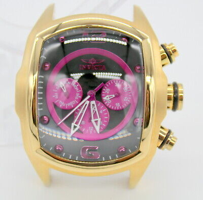 Invicta Lupah Grand 18784 Revolution Gold Mens Watch Only!! No Band