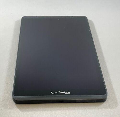 "Verizon Ellipsis 8"" Assembly LCD Screen Digitizer Black Glass with Frame QTAQZ3"
