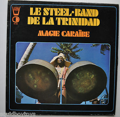 - MAGIE CARAIBES: Steel Band of Trinidad LP Record Calypso ARION  -