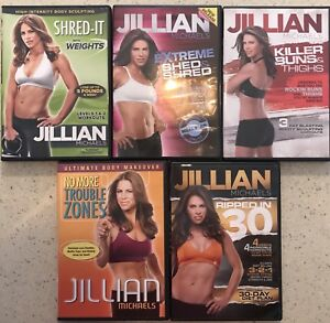 Jillian Michaels Workout DVDs