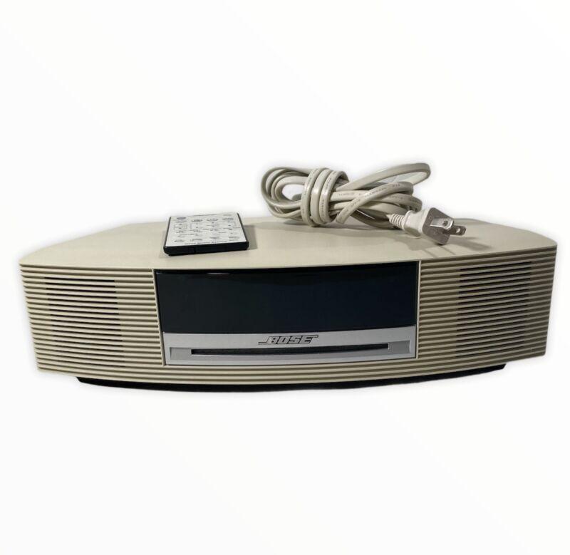 RARE Bose Wave Music System Speaker CD Radio AM/FM Alarm Clock AWRCC2 w/ Remote