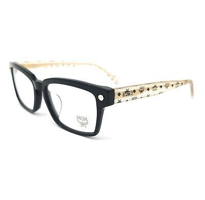 MCM Eyeglasses MCM2649A 024 Black-Gold Marble Glitter Unisex 54x16x140
