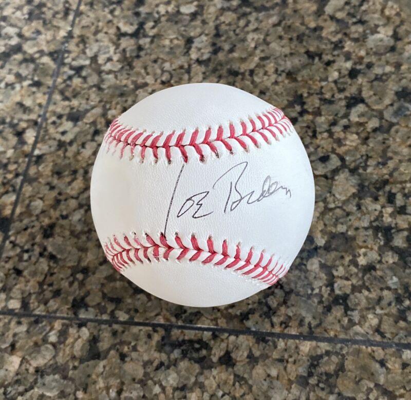JOE BIDEN signed autographed baseball ROML - JSA CERTIFIED