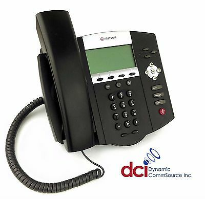 Refurbished Polycom Soundpoint Ip 450 Phone Wpower Free Shipping