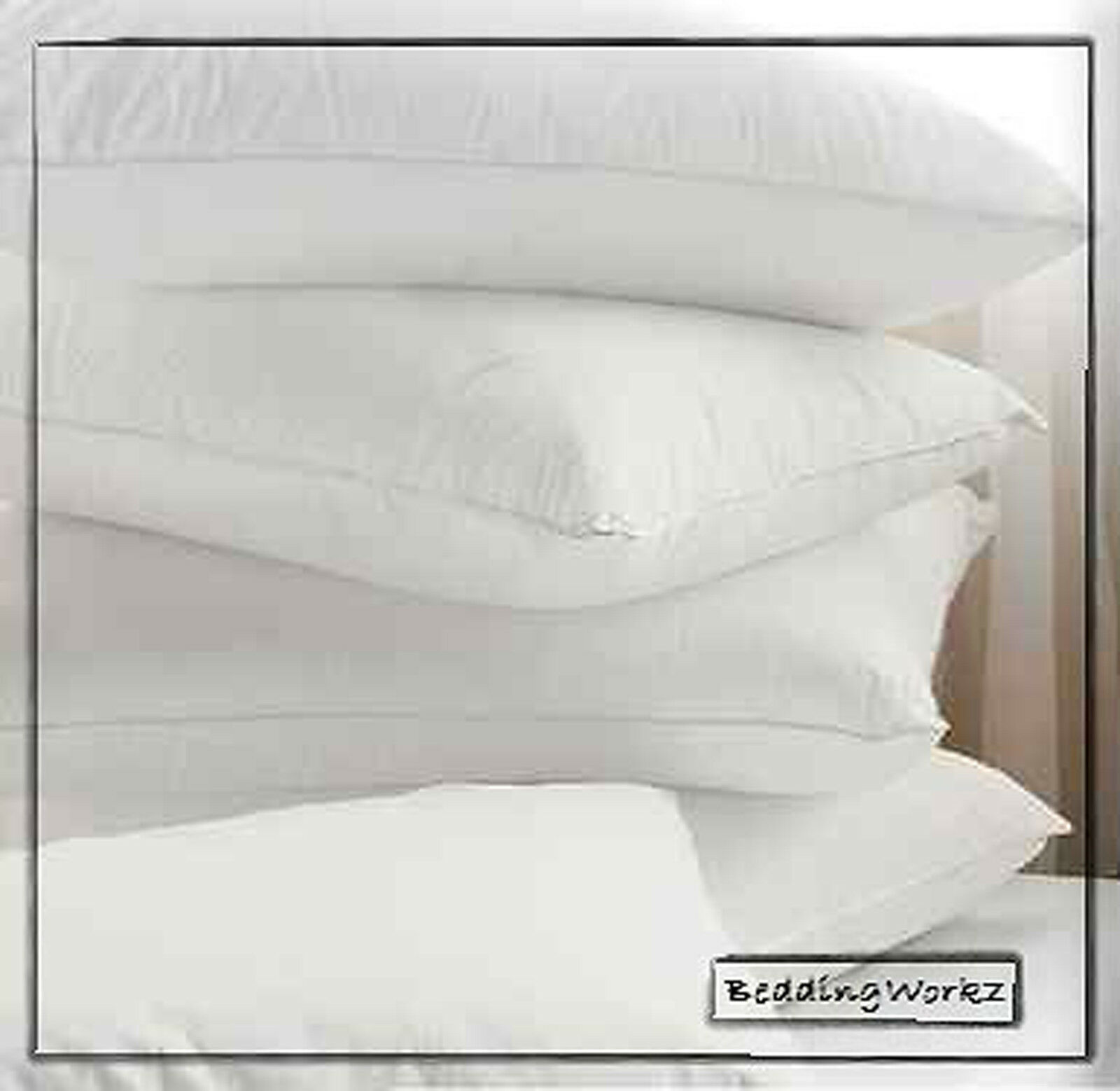 4 x goose feather down pillows pillow protectors non With best non down pillows