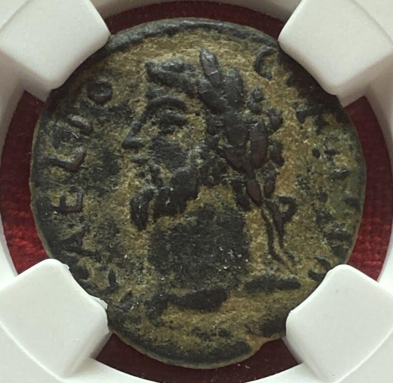 Roman Provincial Commodus (AD 177-192) AE22, NGC VF ancients, Pisidia, Antiochia