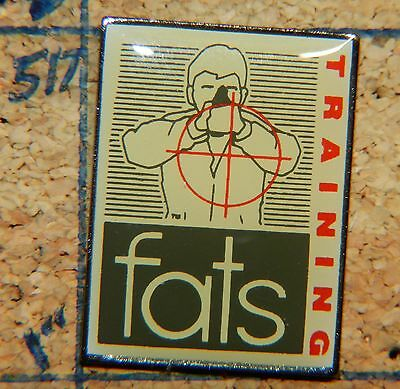 Fats Firearms Training Simulator Metal 1  Lapel Pin