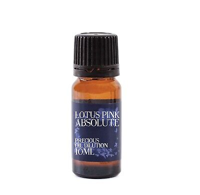 Lotus Rosa Absoluto Aceite Disolución - 10ml - 3% Jojoba Mezcla (EOD10LOTUPINK)