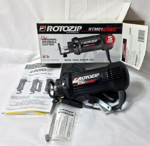 ROTO ZIP DRYWALL ROUTER CUTOUT TOOL  RTM01  THE ORIGINAL DRYWALL POWER TOOL