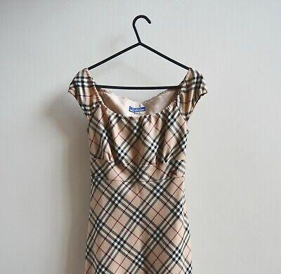 Vintage Burberry Blue Label Nova Check Dress Size 36/UK 8