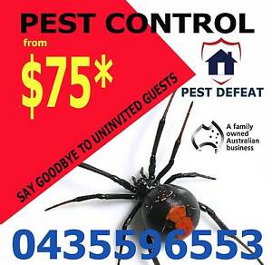 Pest Control @ Pest Defeat Brisbane City Brisbane North West Preview