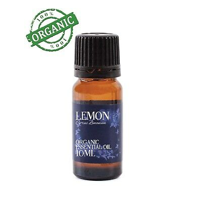 Mystic Moments Lemon Organic Essential Oil - 100% Pure - 10ml (CO10LEMON)