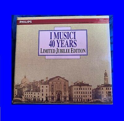 I Musici Philips 434786-2  40 Years Limited Jubilee Edition 1992  Box 5CD