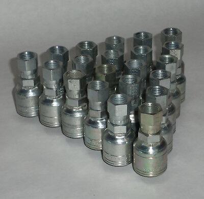 Eaton Genuine Weatherhead Hydraulic Hose Fittings 04z-604 Qty 21