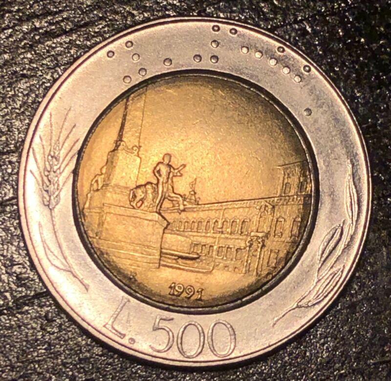 1991 - 500 Lire Coin - Italy