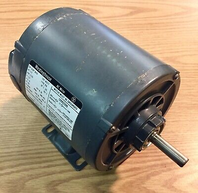 Westinghouse 13 Hp Single Shaft Electric Motor 1725 Rpm 115v 1 Phase B48 Frame