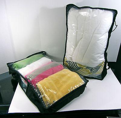 UNDER BED STORAGE BAG  Zip Up Garment Protector
