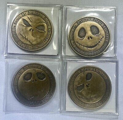 Full collectible coin set - Nightmare Before Christmas - 13 Faces of Jack