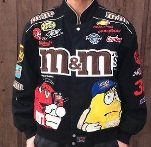 MENS NASCAR JACKET SZ MEDIUM