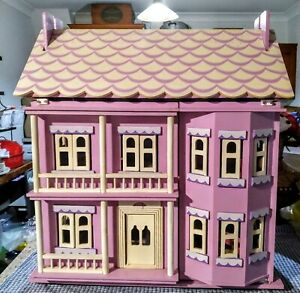 SOLD Le Toy Van timber dolls house 7 rooms of furniture