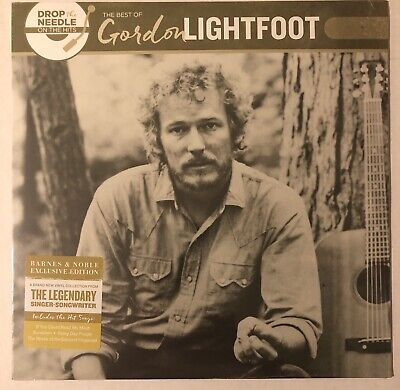GORDON LIGHTFOOT THE BEST OF DROP THE NEEDLE THE HITS BARNES & NOBLE